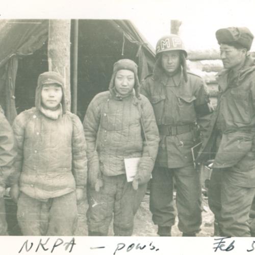 NKPA (North Korea Peoples Army) POW's