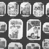 Gilbert T. Tanji album page 22. Ushimaya family