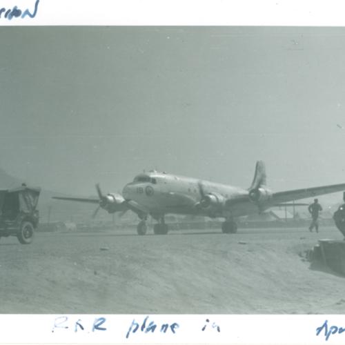 Plane in Chuncheon