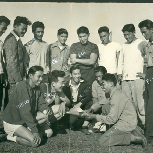 George's track team