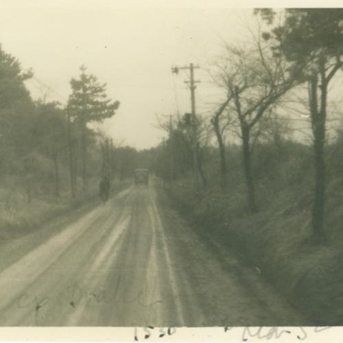 Road to Camp Drake