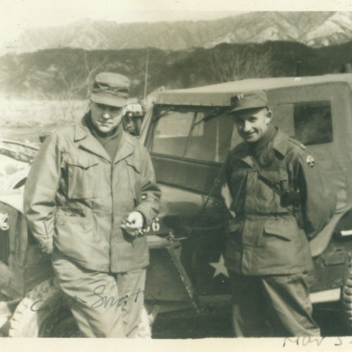 Captain and Turkish soldier