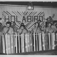 Army band at Camp Holabird
