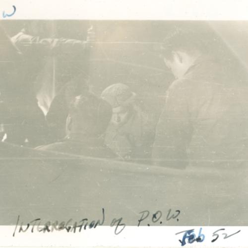 Interrogation of P.O.W.
