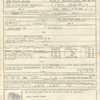 Enlisted Record and Report of Separation, Honorable Discharge, Tanji Hisao