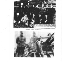"""Booklet page. """"Dog that served two nations"""" essay and photographs"""