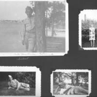 Gilbert T. Tanji album page 25. Gilbert Tanji in St. Paul, Minnesota