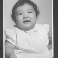 "Gilbert T. Tanji album page 50. ""Baby Mary Jean"" Sakarai"