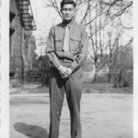 Takeshi Shindo in uniform, Military Intelligence Service