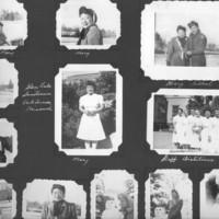 Gilbert T. Tanji album page 16. Glen Lake Sanatorium