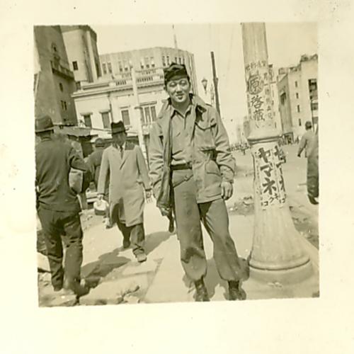 George on the street