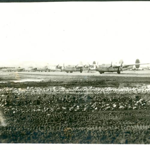 Airplanes at base