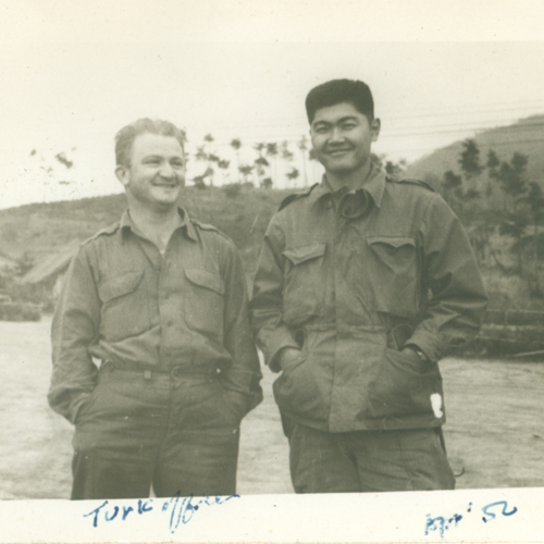Henry and a Turkish officer