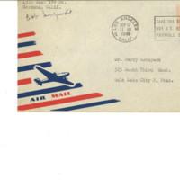 Letter from Bob Sugimoto to Mr. Jerry Katayama, September 12, 1949