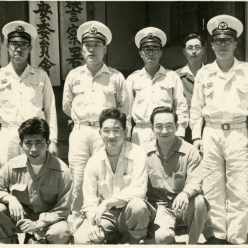 Tsutomu and officers