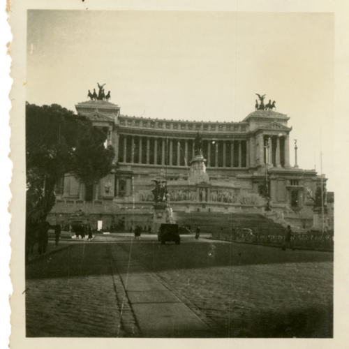 Victor Emmanuel II National Monument in Rome, Italy
