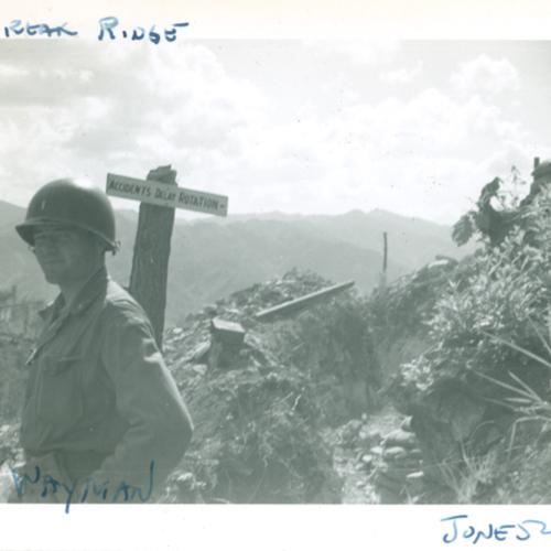 Wayman at Heartbreak Ridge