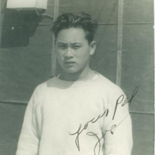 Joseph (Joe) Nishikawa close-up