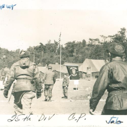 25th Division area
