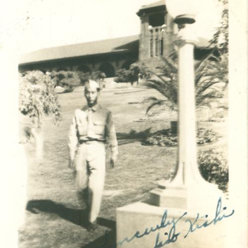 Yukio Kishi  in uniform