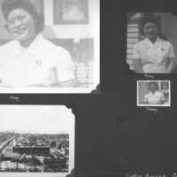Gilbert T. Tanji album page 3. Mary Tanji, Rochester, Minnesota