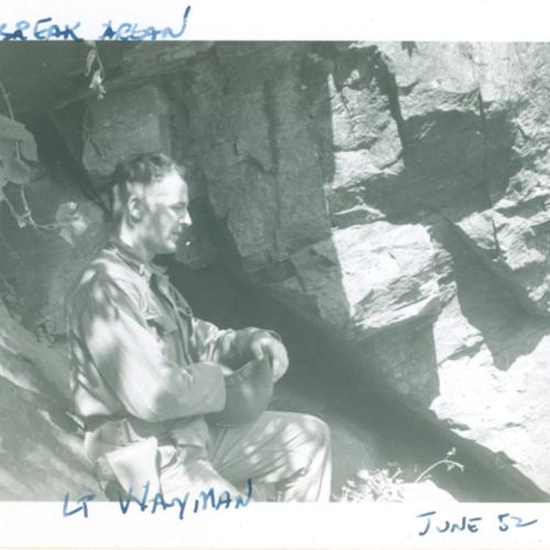 Lt. Wayman at Heartbreak Area
