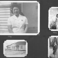 Gilbert T. Tanji album page 5. Mary Tanji